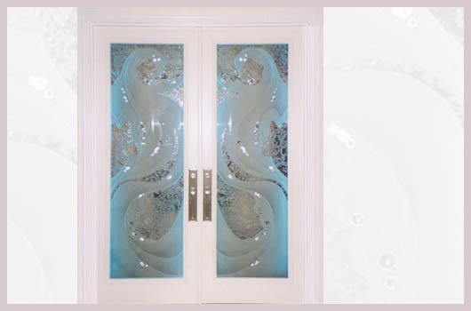 doors sarasota florida etched glass mermaids