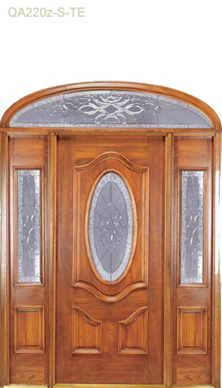 leaded-glass-mahobany-doors-sarasota-florida-1