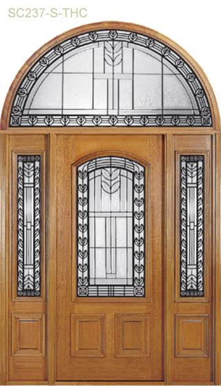 leaded-glass-mahobany-doors-sarasota-florida-2